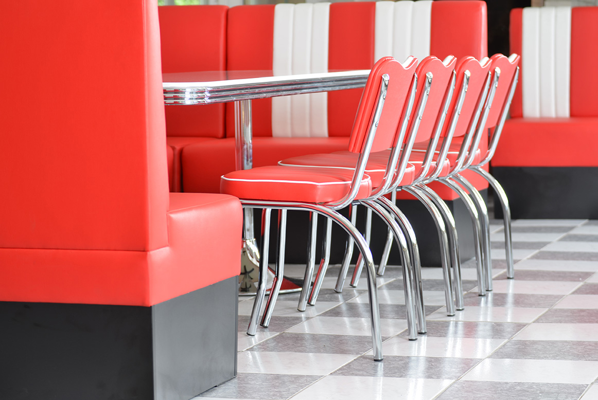 References & american 50s retro diner furniture diner chairs booths bar stools ...