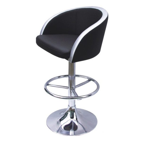 solid bar stool