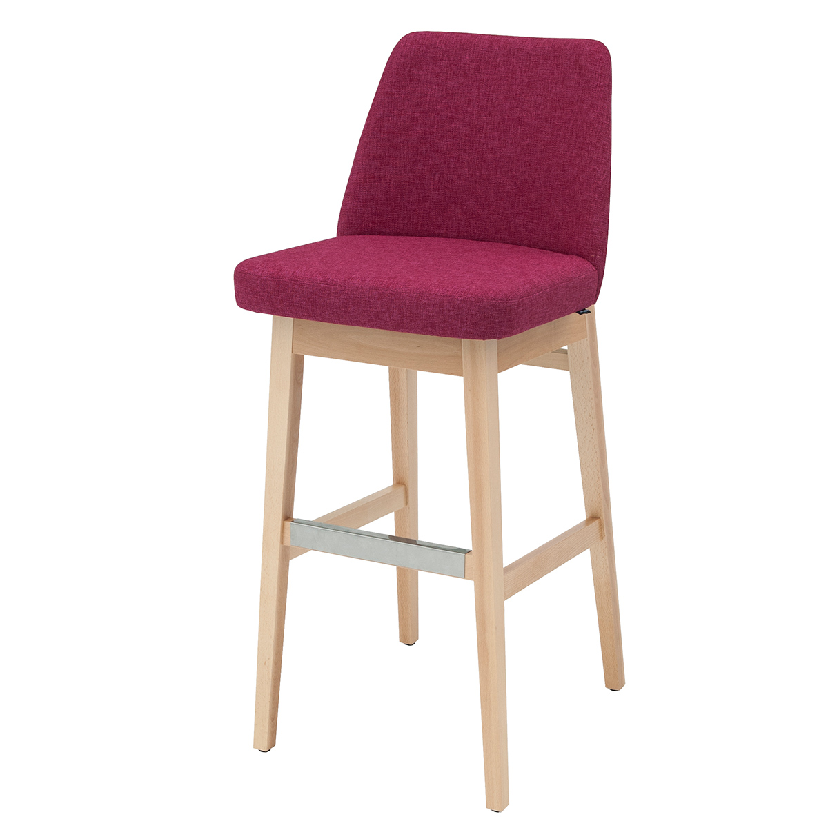 Magnificent Solid Wood Bar Stool Lena B048 Is A Heavy Duty And Elegant Ibusinesslaw Wood Chair Design Ideas Ibusinesslaworg