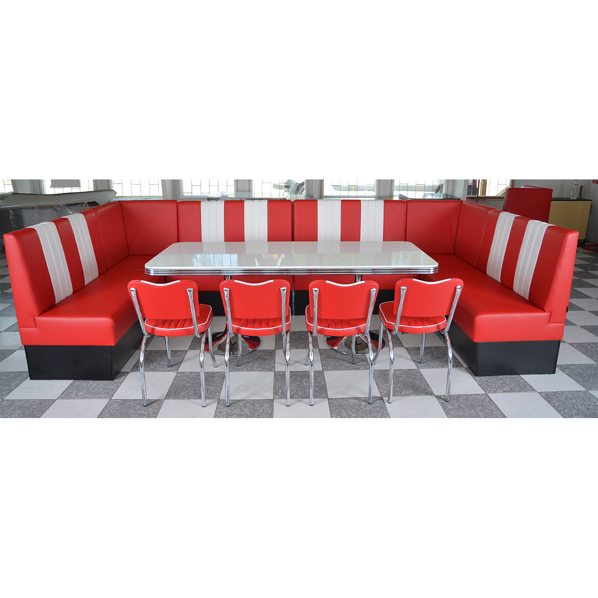 Modular Diner Booth K487 Novio Box For Restaurant And Fast